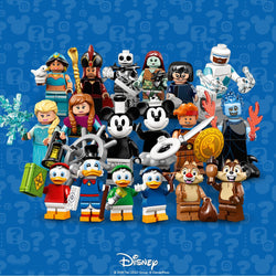 LEGO 71024 Minifigures Disney Series 2 COMPLETE SET of 18  Big Big World