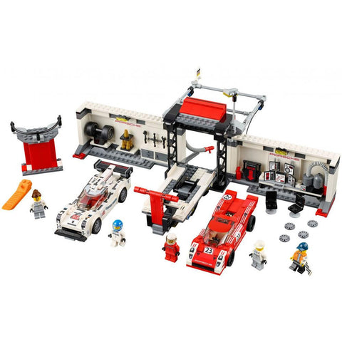 LEGO 75876 Porsche 919 Hybrid and 917K Pit Lane  Big Big World