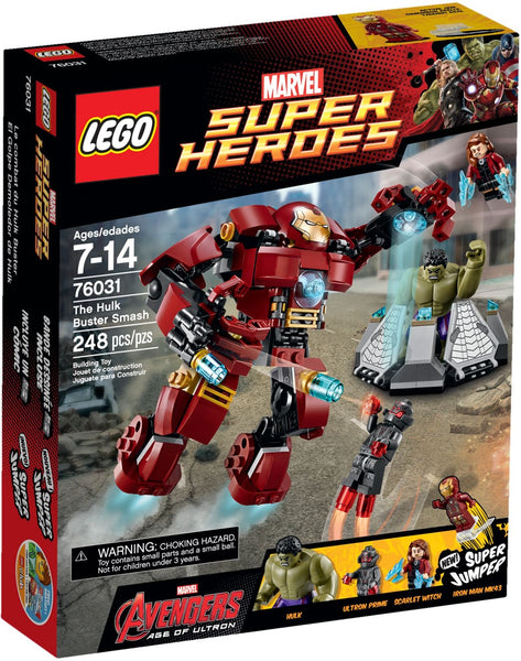 LEGO 76031 The Hulk Buster Smash  Big Big World