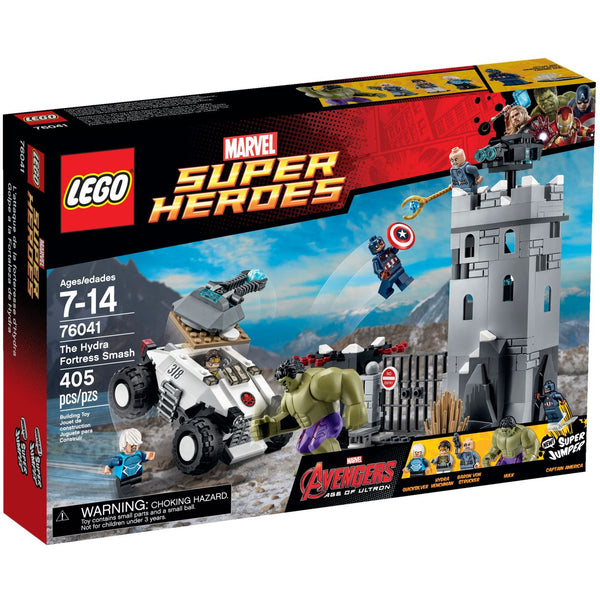 LEGO 76041 The Hydra Fortress Smash  Big Big World