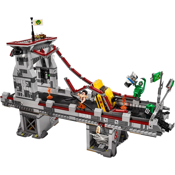 LEGO 76057 Spider-Man: Web Warriors Ultimate Bridge Battle  Big Big World