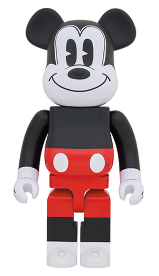 MEDICOM TOY BE@RBRICK Mickey Mouse (R&W 2020 Ver.) 1000% Bearbrick【Pre-Order】