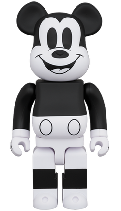 MEDICOM TOY BE@RBRICK  MICKEY MOUSE (B&W 2020 Ver.) 1000% Bearbrick【Arriving Soon】