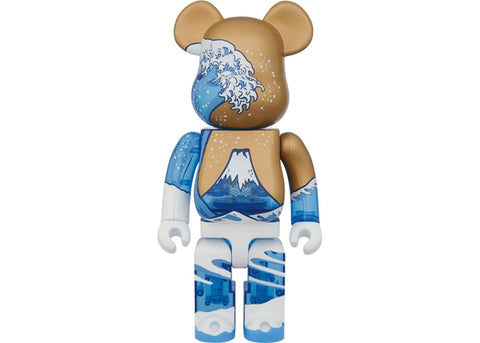MEDICOM TOY BE@RBRICK HOKUSAI 400% BEARBRICK【OPENED BOX】