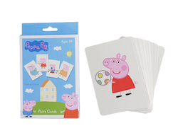 Peppa Pig Pairs Card Game  Big Big World
