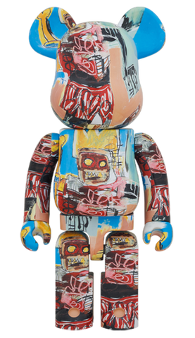 MEDICOM TOY Be@rbrick Jean-Michel Basquiat #6 1000% Bearbrick