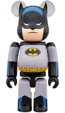 MEDICOM BE@RBRICK BATMAN ANIMATED 100% & 400% Bearbrick