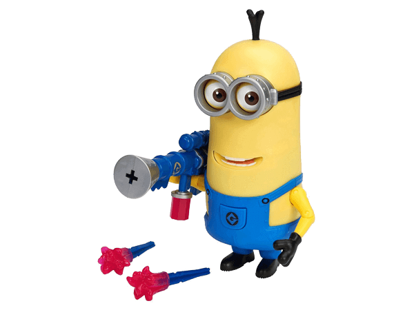 Despicable Me Minion Kevin with Jelly Blaster Deluxe Action Figure  Big Big World