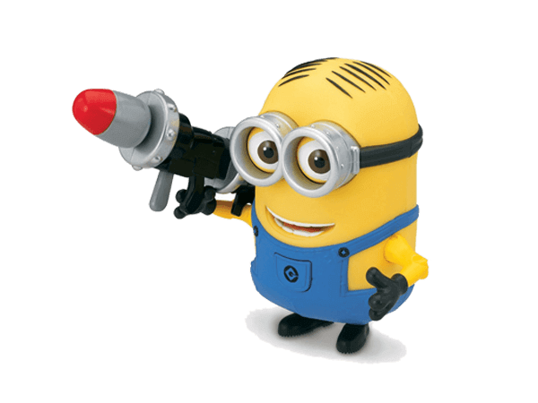Despicable Me Minions Talking Dave Deluxe action figure  Big Big World