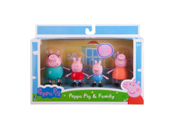 Peppa Pig Family 4 Pack  Big Big World