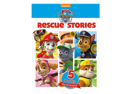 Paw Patrol 5 book slipcase rescue stories  Big Big World
