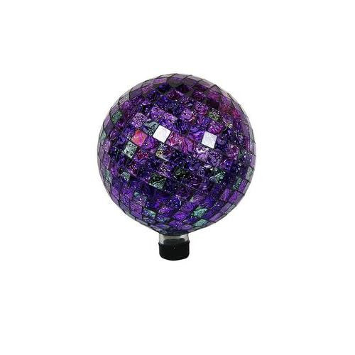 10 Inch Gazing Globe Shinning Purple