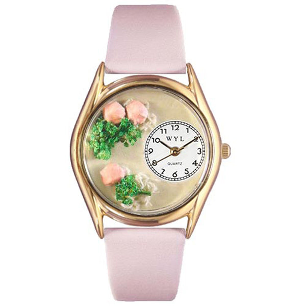 Roses Watch Small Gold Style