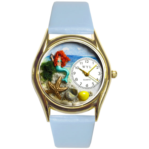Mermaid Watch Small Gold Style