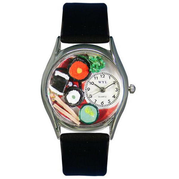 Sushi Watch Small Silver Style