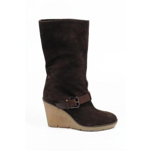 Sebastian Milano ladies short boot S3946 VELOUR LUX (Sonia) 538 EBANO