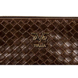 V 1969 Italia Mens Bag V1969008 COFFEE
