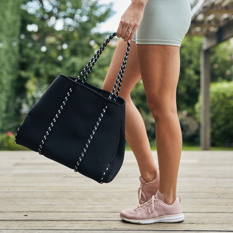 Stella Athletic with Black Neoprene Tote