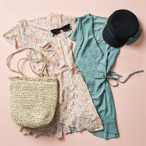 Indie Showbag with Sage Moon Dress
