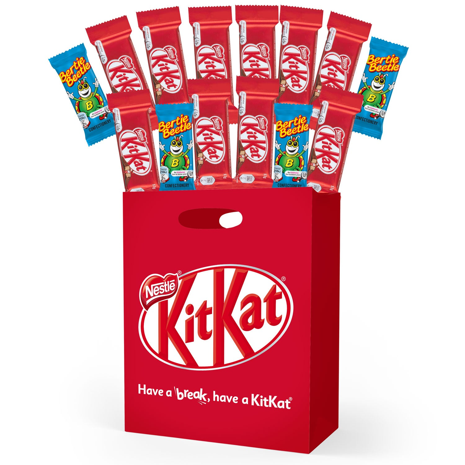 Kit Kat Wholesale Carton (25 showbags)