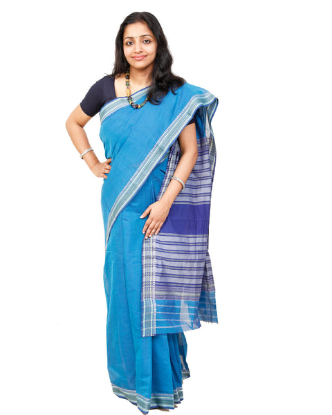 Handwoven Begampur saree