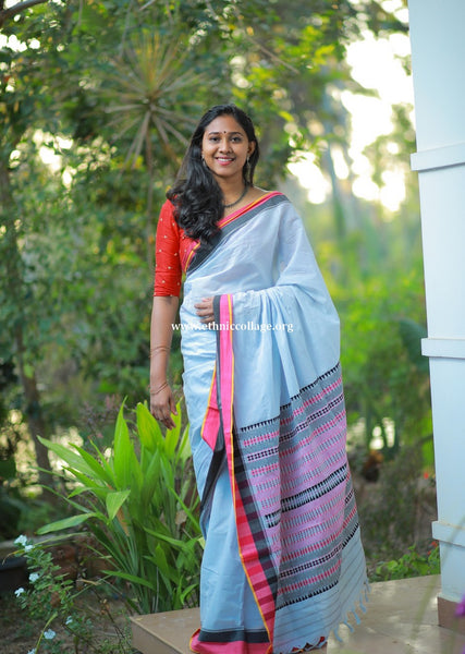 HandWoven Begampur Cotton Saree (BG26)