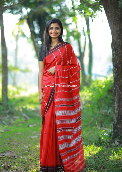HandWoven Begampur Cotton Saree (BG28)