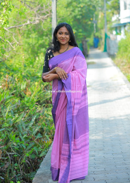 HandWoven Begampur Cotton Saree (BG30)