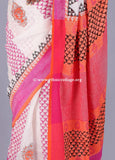 Linen saree  ,Linen sari , Handloom linen, Handwoven linen saree, Pure linen saree from ethnic collage