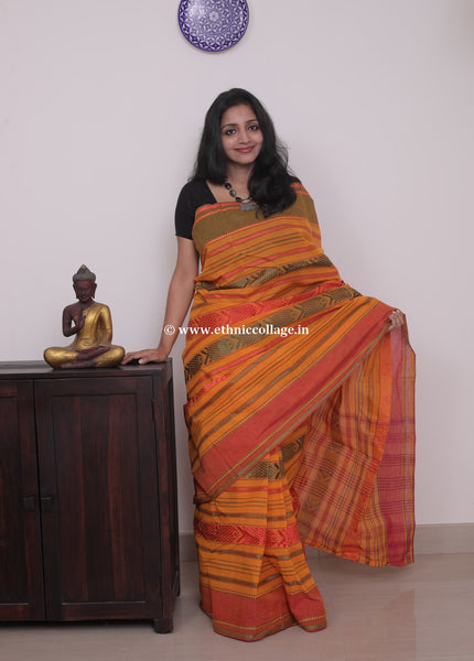 handloom cotton saree,
