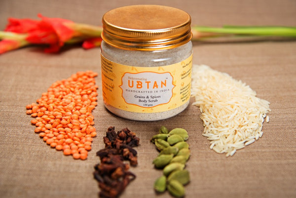 GRAINS AND SPICES BODY SCRUB
