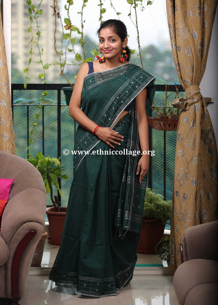 Handloom Pure Matka Silk Saree with Buttas