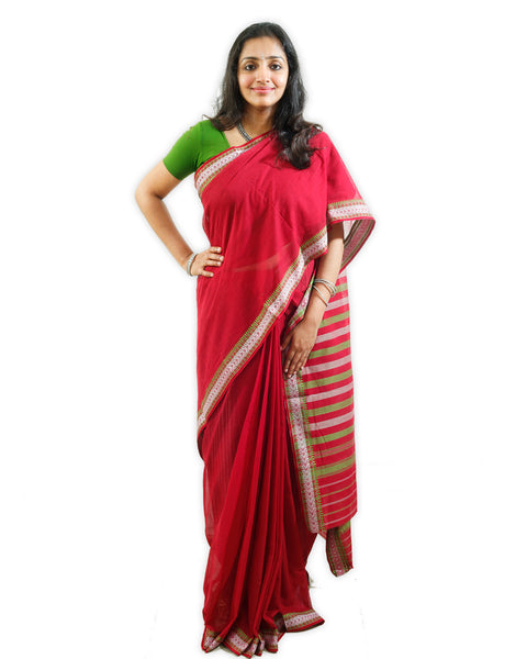 Begampur cotton Handloom saree