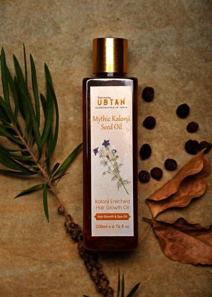 Mythic Kalonji Seed Oil - Hair Growth and Spa Oil