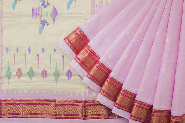 HandWoven Cotton Paithani Saree (PAI1CSAR101)