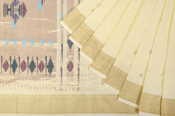HandWoven Cotton Paithani Saree (PAI1CSAR73)