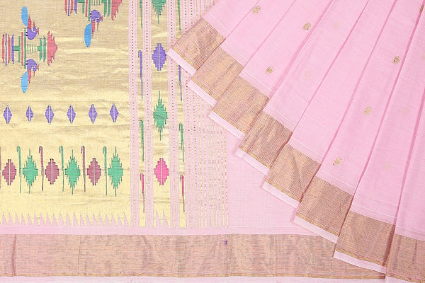 HandWoven Cotton Paithani Saree (PAI1CSAR79)