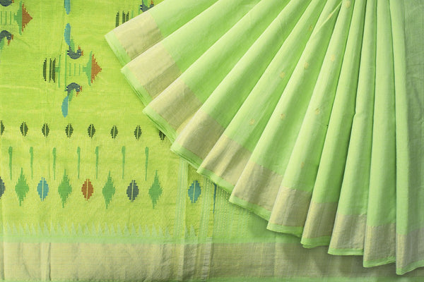 HandWoven Cotton Paithani Saree (PAI1CSAR91)