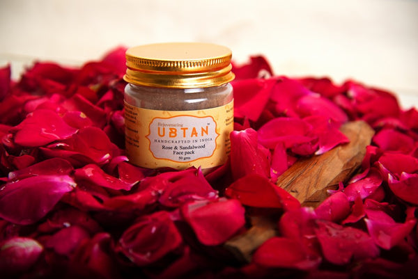 ROSE AND SANDALWOOD FACE PACK