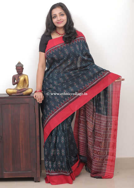 Sambalpuri ikkat saree,Handloom saree,Cotton saree,Ikkat saree,cotton ikkat,cotton saree