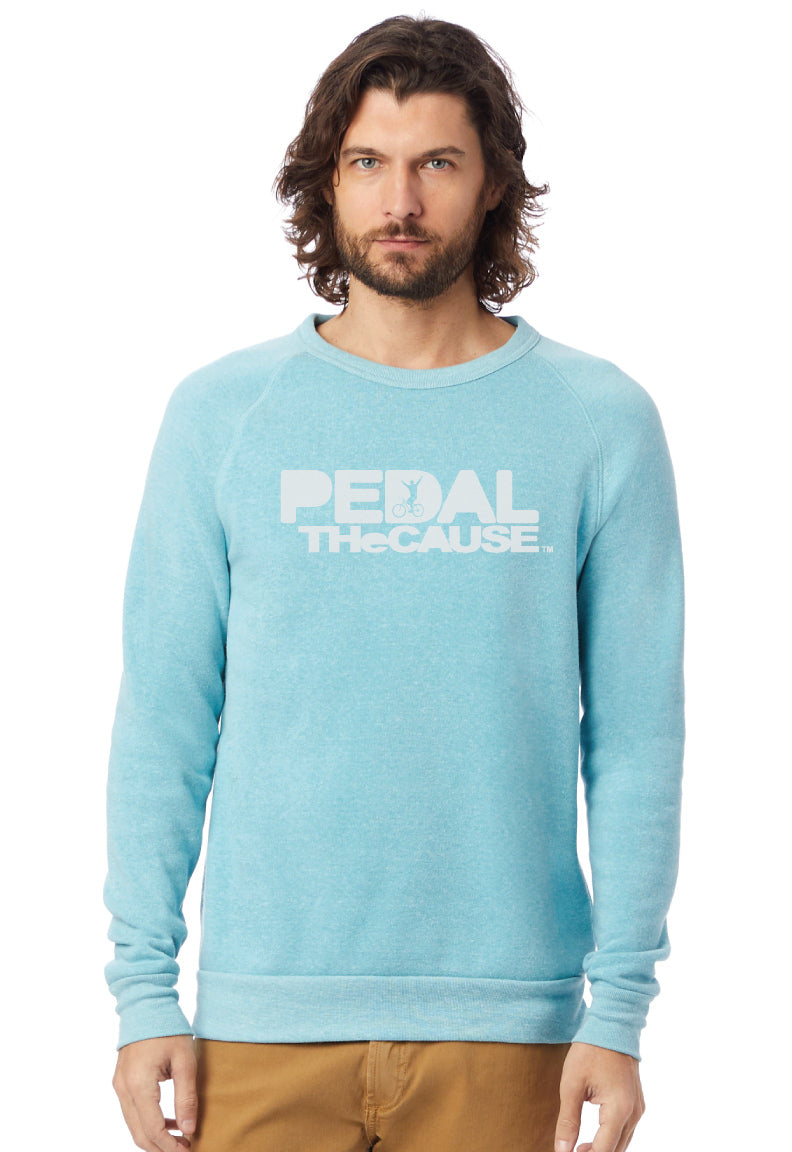 PTC Eco-Fleece Sweatshirt in Eco Aqua