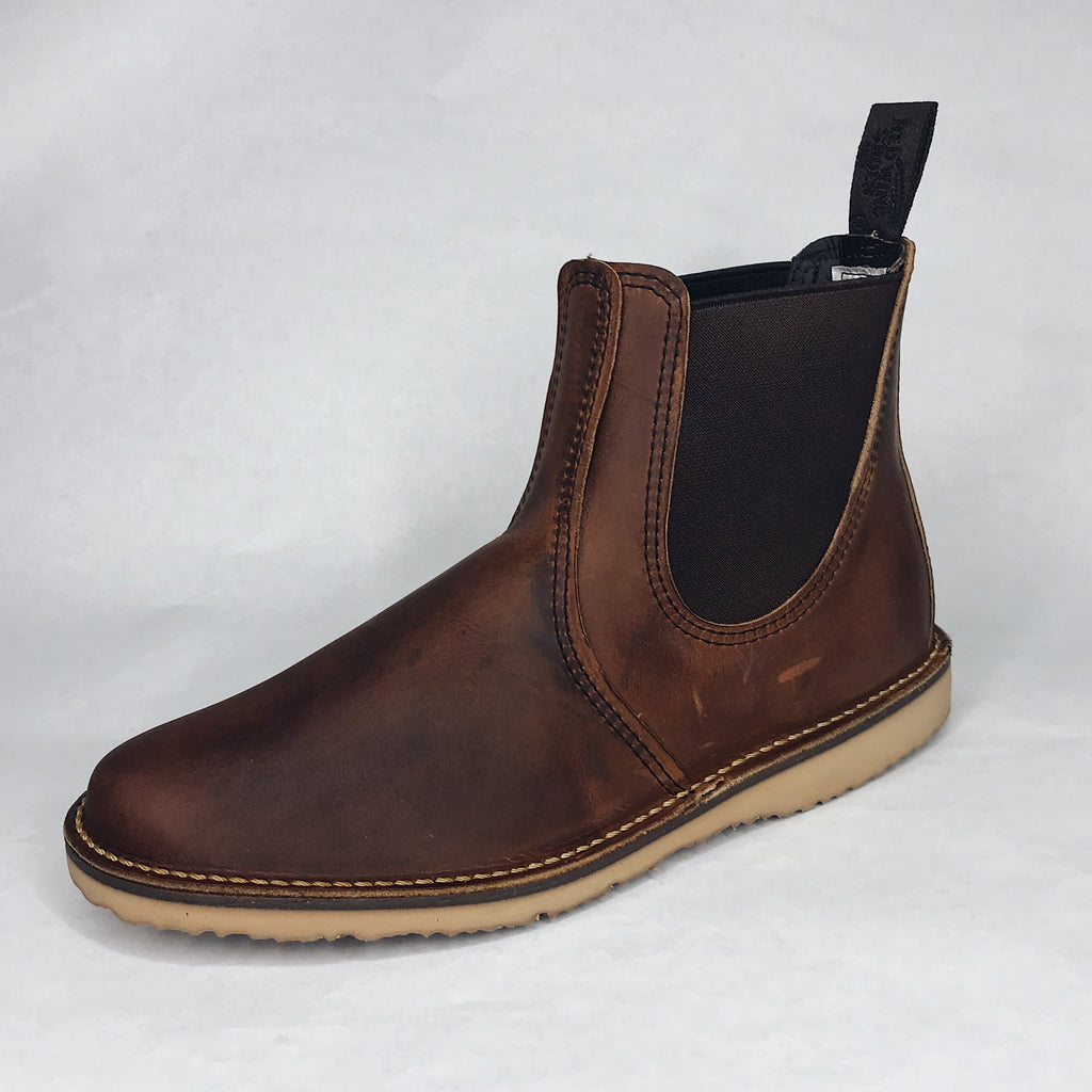 Red Wing Heritage - 3311 Weekender Chelsea Boot Copper Rough & Tough - Foundry Mens Goods