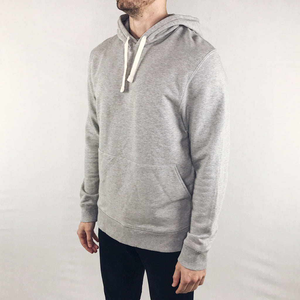 Richer Poorer - Pullover Hoodie Heather Grey - Foundry Mens Goods