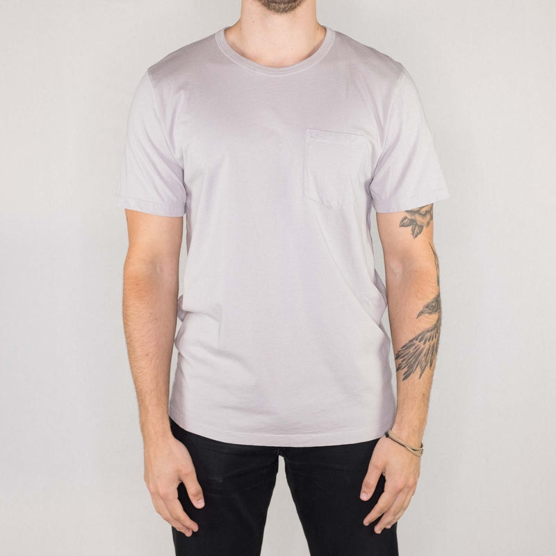 Groceries Apparel - Heritage Pocket Tee Mineral - Foundry Mens Goods