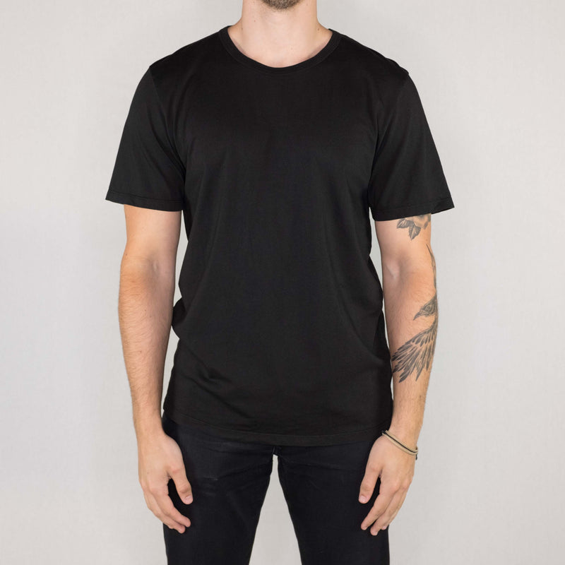 Groceries Apparel - Heritage Tee Black - Foundry Mens Goods
