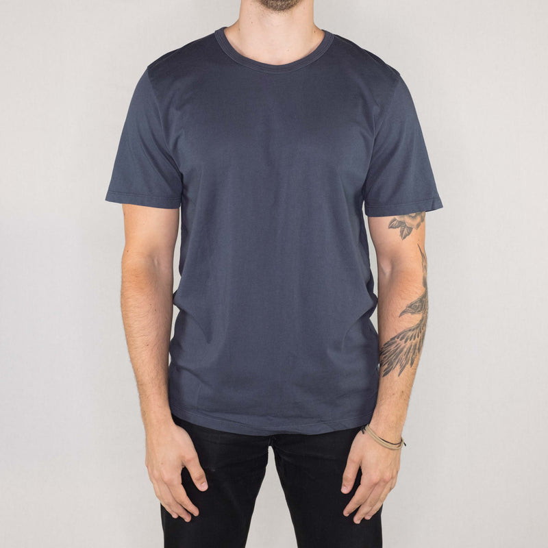 Groceries Apparel - Heritage Tee Neptune - Foundry Mens Goods