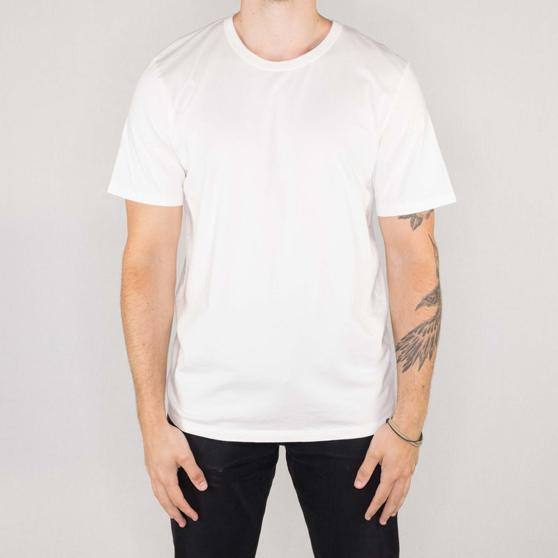 Groceries Apparel - Heritage Tee White - Foundry Mens Goods