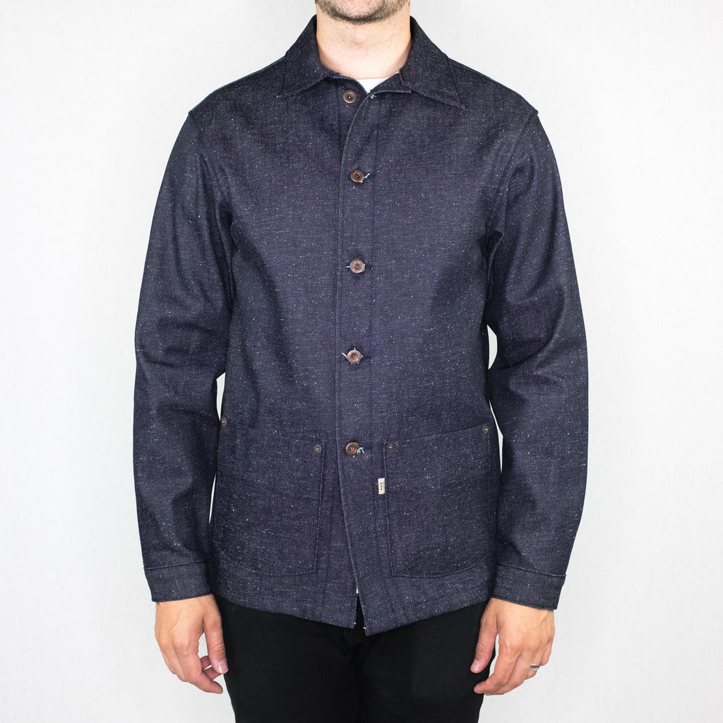 Railcar - Service Coat II 12 oz. Kuroki Mills Denim - Foundry Mens Goods