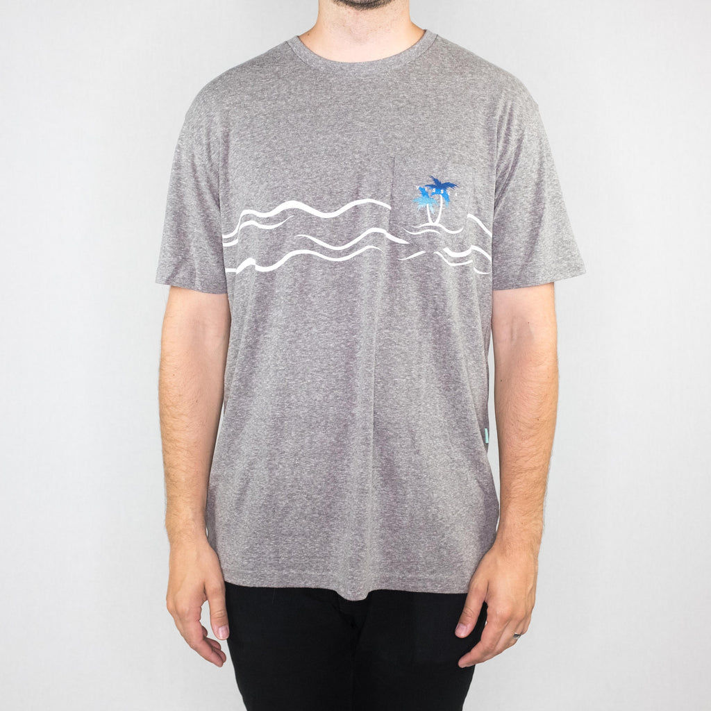 Vissla - Palmere Tee Heather Gray