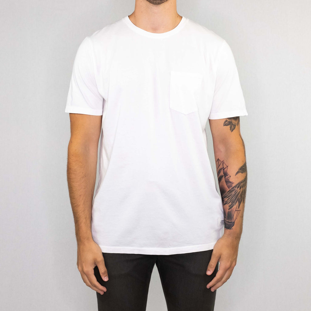 Katin USA - Base Pocket Tee Vintage White - Foundry Mens Goods